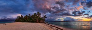 Ranguana Caye by NickSpiker