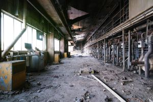 4192, old AMCOR papermill. by thespook