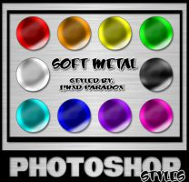 Photoshop Styles - Soft Metals by JINXD-PARADOX
