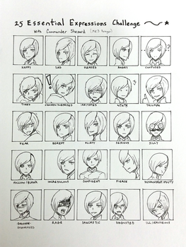 25 Expression challenge by iDetectiv