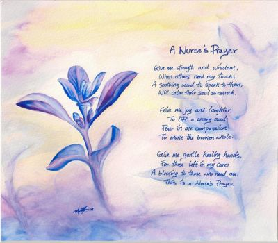 A Nurse's Prayer by Tsoi