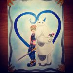 Kingdom Hearts 3 Sora and Baymax by WhiteWillow13