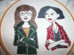 Daria and Jane by Craftywatts