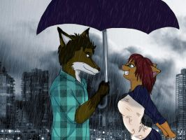 I Thought Cats Hated Rain... by ShinobiAlchemist