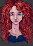 Merida Portrait by Ratgirlstudios