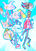 Sonic Lactic Team by zigaudrey