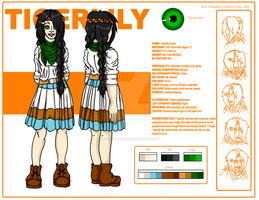 .Reference Sheet - Tigerlily. by Gothicbunni