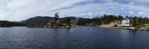 Big Bear Lake Panorama by ShipperTrish