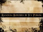 Random Borders by ivy-poison