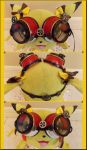 Chula's Steampunk Inspired Pokeball Goggles by pikabellechu
