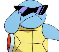 Swaggster Squirtle by AshleyClaire