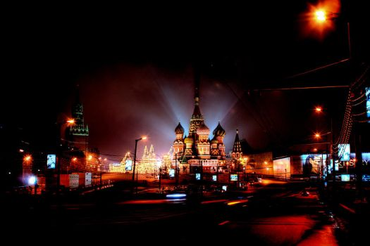 moscow night by moitisse