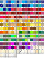 Colour Claim List by Fuyuka-Shirai