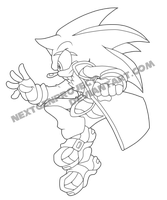 :SA: Hybrid the Hedgehog by NextGenProject