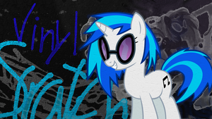 Vinyl Scratch Wallpaper 2 by Chadbeats