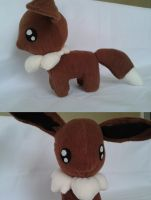 Plush Eevee Go by ChikoxChan