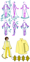 DD: Light Wing Robe Designs by chiyokins