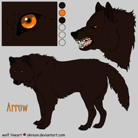 Arrow Reference Sheet by Jenny2-point-0