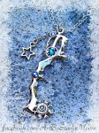 DIAMOND DUST AUCTION Keyblade by Starl33na