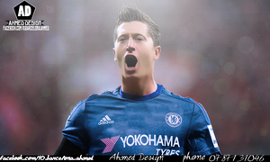 Retouch For Lewandowski Chelsea by Ahmed-Gfx1
