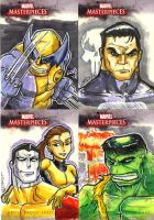 Marvel Artist Proof Cards 3 by lordmesa