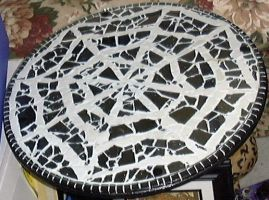 Mosaic Tile Spiderweb Table sm by alanahawk