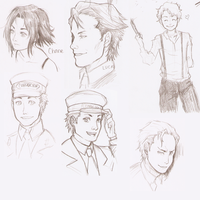 Baccano Sketches again by escape-emotion