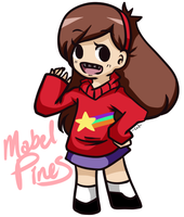 my name is Mabel it rhymes with table by MewGlaceon