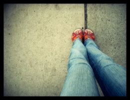 such cute little feet by Littography