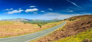 The Road to Sugar Loaf Mountain, South Wales by Spudgun