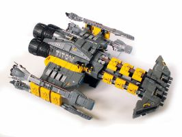 Starcraft Battlecruiser Titow by Scharnvirk