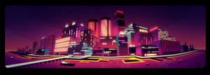 Neon Night Life by NYAAAAAAMAN