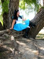 Cyber Alice Comes to the Real World by Cheslyn