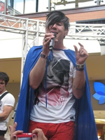Josh Ramsay with a cape by Jayfeather4life
