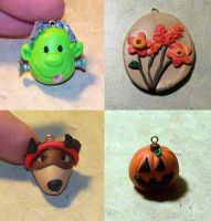 Halloween ornaments by elvaniel