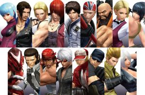 The King of Fighters XIV - Characters - Teaser 6 by Zeref-ftx
