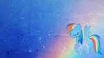 Rainbow Dash [Grunge-Style] by RicePoison