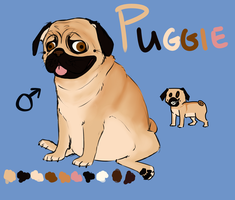 Puggie Reference by Thylaphlis