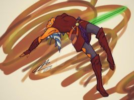 ahsoka jump by shadoefax