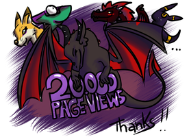 20.000 PageViews by UmbreoNoctie