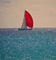 Sailing away-,.-- by burcyna