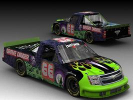 Grave Digger Custom NASCAR by SpinDragun
