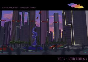 CITY 3 - Speedpainting 3 by Jesterman
