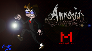 Markiplier In Amnesia: A Machine for Pigs by GypZtheQuaker