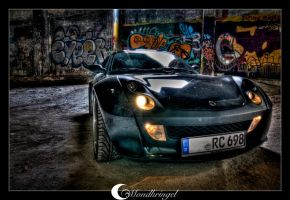 smart roadster coupe by Mondkringel