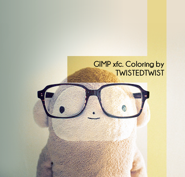 GIMP xcf. Coloring #1 by twistedtwist