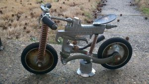 Flat track racer by adoptabot