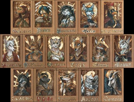 Badges 2012 -4 by kittiara