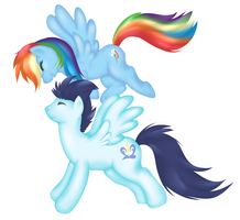 Soarin' through the sky by Chioro