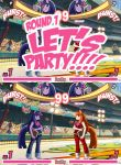 MLP FIGHT by ss2sonic